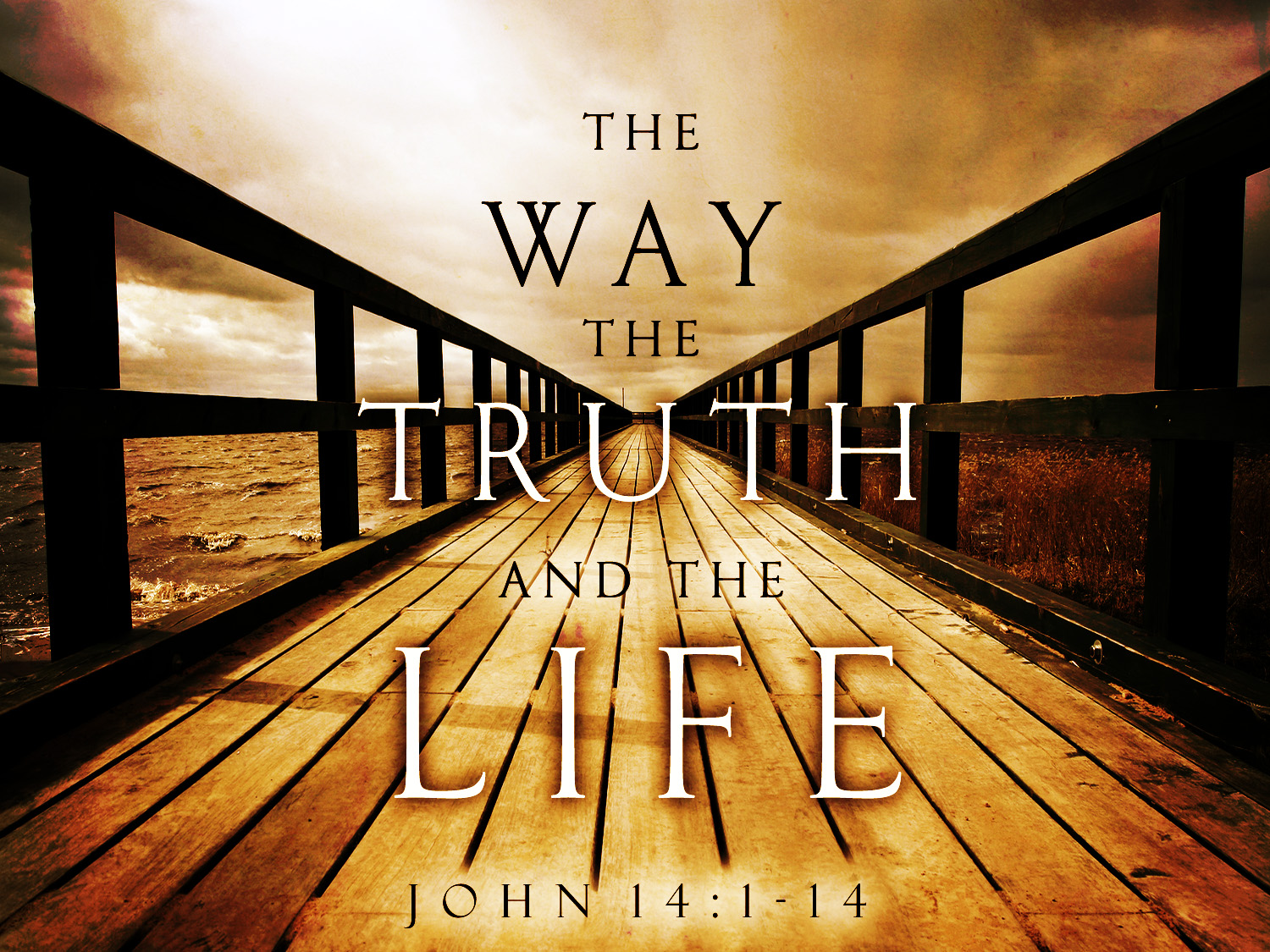 "John 14:6 Jesus said to him, ""I am the way, the truth, and the life ..."